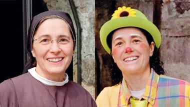 MAGA E MAESTRA -  Suor Linda, 49 anni, fa parte delle Francescane Ancelle di Maria, una congregazione di suore impegnate nel campo dell'educazione e dell'assistenza. Foto di Giovanni Panizza