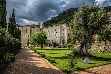 Il monastero San Magno che si trova in via Valle Vigne a Fondi